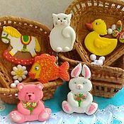 Сувениры и подарки handmade. Livemaster - original item A set of children`s gingerbread gingerbread. Gingerbread for kids. Handmade.