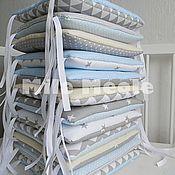 Для дома и интерьера handmade. Livemaster - original item Bumpers in a crib. Handmade.