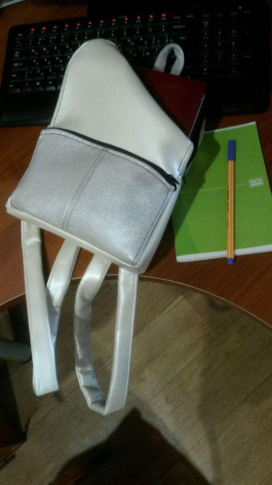Рюкзаки ручной работы. Ярмарка Мастеров - ручная работа. Купить Рюкзак из зам.кожи. Handmade. Рюкзак, сумка