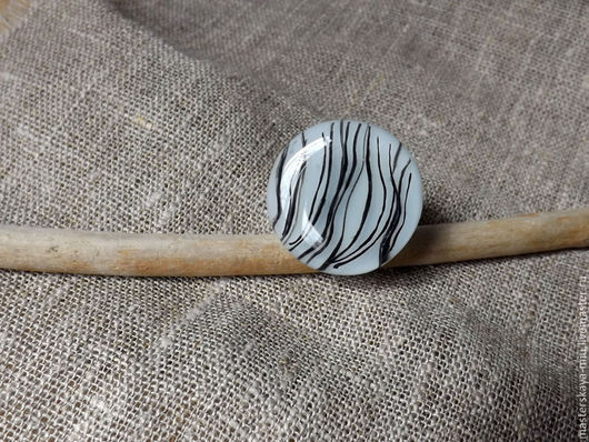 """Кольца ручной работы. Ярмарка Мастеров - ручная работа. Купить кольцо """"Снег и линии"""". Handmade. Чёрно-белый, лед, светлый"""