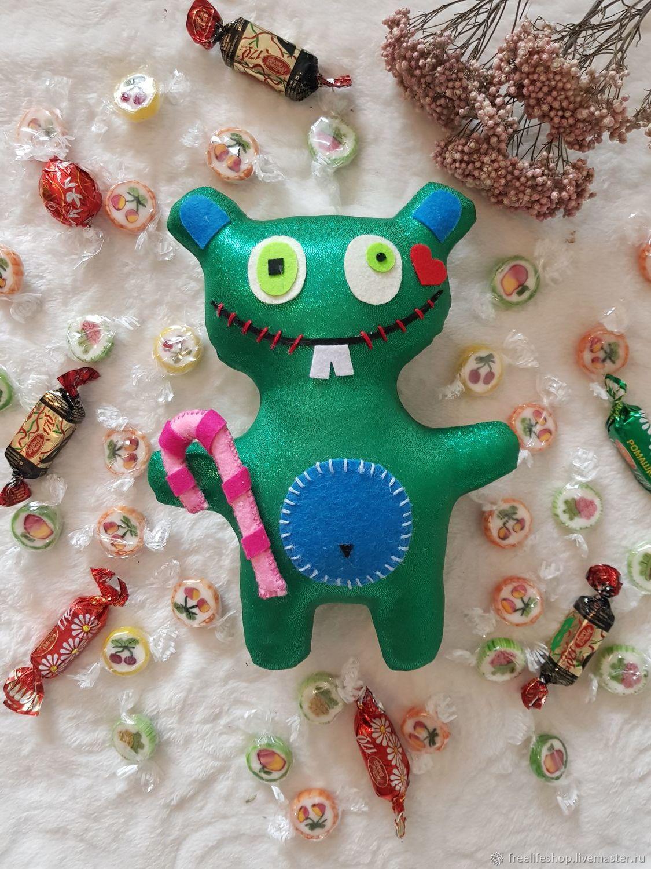 Чудной медведь, Мягкие игрушки, Москва,  Фото №1