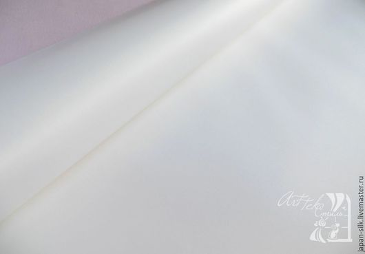 Ткань для цветов ручной работы. Ярмарка Мастеров - ручная работа. Купить Нью сатин с/к и т/к. Handmade. Белый, сатин
