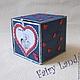 """Подарки для влюбленных ручной работы. Заказать Сладкая коробочка """"Любовь это..."""". Fairy Land (Fairy-Land-Lusy). Ярмарка Мастеров."""