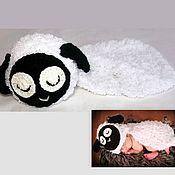 Работы для детей, ручной работы. Ярмарка Мастеров - ручная работа для фотосессии Барашек  (шапочка для новорожденного). Handmade.