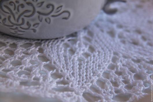 Текстиль, ковры ручной работы. Ярмарка Мастеров - ручная работа. Купить Салфетка Звездочка. Handmade. Белый, гостинная, хлопок