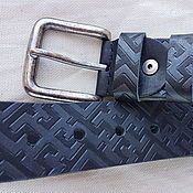 Аксессуары handmade. Livemaster - original item DUKHOBOR, ORNAMENT strap leather. Handmade.