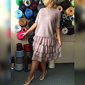 Одежда ручной работы. Ярмарка Мастеров - ручная работа Костюм #86 вязаный из 30% итальянской шерсти. Handmade.