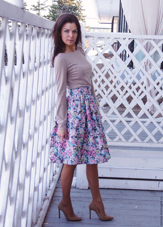 юбка цветок фото