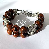 Украшения handmade. Livemaster - original item Aventurine Bracelet Jewelry Bracelets natural gems Bracelet with bico. Handmade.