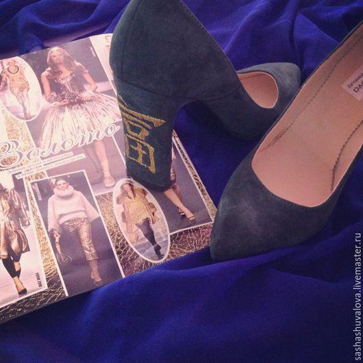 Обувь ручной работы. Ярмарка Мастеров - ручная работа. Купить Туфли ручной работы. Handmade. Туфли женские, туфли из кожи