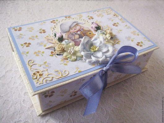 Подарки для новорожденных, ручной работы. Ярмарка Мастеров - ручная работа. Купить Мамины сокровища. Handmade. Голубой, мама и малыш