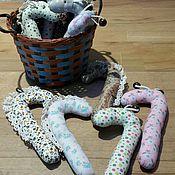 Куклы и игрушки ручной работы. Ярмарка Мастеров - ручная работа Погремушки лоскутные. Handmade.