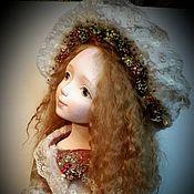 Куклы и игрушки ручной работы. Ярмарка Мастеров - ручная работа Осенняя будуарная куколка. Handmade.