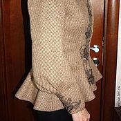 Одежда handmade. Livemaster - original item Warm-up jacket cut historical Reconstruction. Handmade.