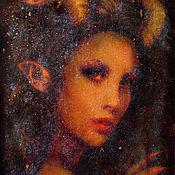 Картины и панно handmade. Livemaster - original item Murals on glass