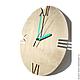 Часы для дома ручной работы. Заказать Часы из дерева Норд. Часы ручной работы. Ansem-store. Ярмарка Мастеров. Картина