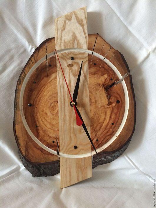 Часы для дома ручной работы. Ярмарка Мастеров - ручная работа. Купить Часы настенные.. Handmade. Желтый, часы в подарок, интерьер