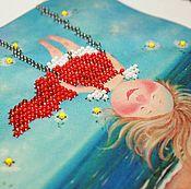 Картины и панно ручной работы. Ярмарка Мастеров - ручная работа Ангелочки по мотивам Е.Гапчинской.. Handmade.