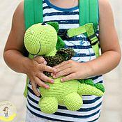 Stuffed Toys handmade. Livemaster - original item Toy Dinosaur. Handmade.