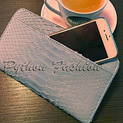 Сумки и аксессуары handmade. Livemaster - original item The wallet is made of Python leather - IN STOCK. Handmade.