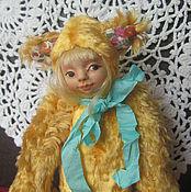 """Куклы и игрушки ручной работы. Ярмарка Мастеров - ручная работа Тедди - долл """" Лизонька """". Handmade."""