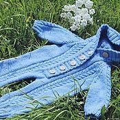 Работы для детей, handmade. Livemaster - original item Knitted Romper for baby. Handmade.