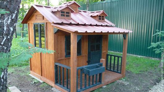 """Детская ручной работы. Ярмарка Мастеров - ручная работа. Купить Детский игровой домик  """"Композиция"""". Handmade. Комбинированный, дом для ребёнка"""