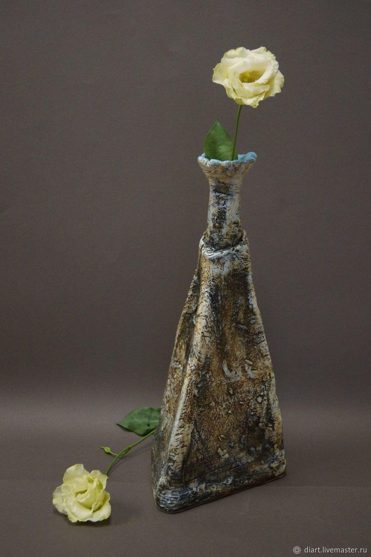 """ваза """"Зимний сон"""" или """"Каменный цветок"""""""