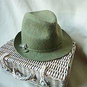 Аксессуары ручной работы. Ярмарка Мастеров - ручная работа Эдельвейс ...Шляпка валяная. Handmade.