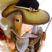 Куклы и игрушки ручной работы. Ярмарка Мастеров - ручная работа ДОН-КИХОТ  кукла интерьерная. Handmade.