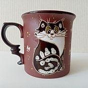 Посуда handmade. Livemaster - original item Handmade ceramic mug:Seal. Handmade.