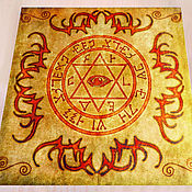 Фен-шуй и эзотерика handmade. Livemaster - original item Altar cloth the SEAL of SOLOMON. Handmade.