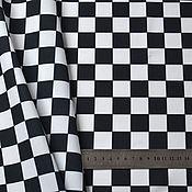 Материалы для творчества handmade. Livemaster - original item Fabric: checkerboard. Handmade.