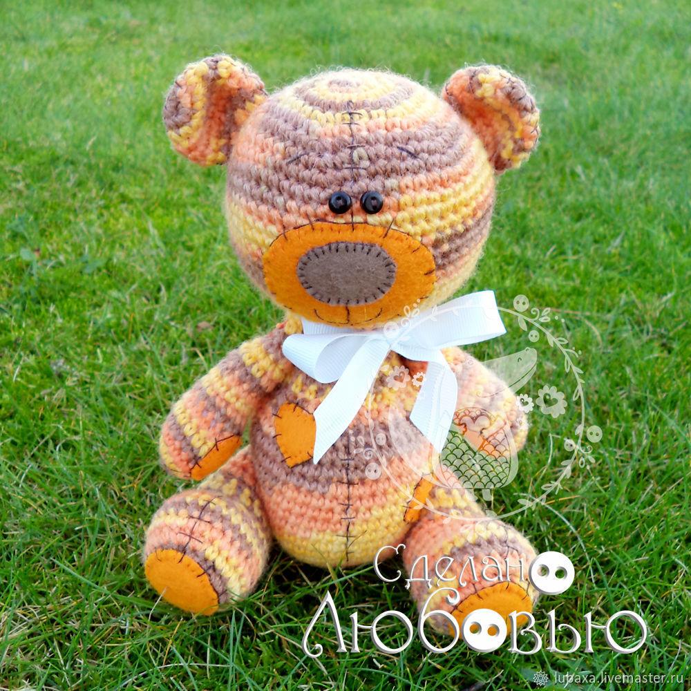 Knitted bear, Stuffed Toys, Vyborg,  Фото №1