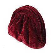 Винтаж handmade. Livemaster - original item Velvet bag. Handmade.