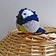 Игрушки животные, ручной работы. Птичка синичка - красивая мягкая игрушка.. Galka - toys. Интернет-магазин Ярмарка Мастеров.
