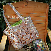 handmade. Livemaster - original item Beach bag