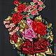 Картины цветов ручной работы. Ярмарка Мастеров - ручная работа. Купить Букетик роз. Handmade. Картина в подарок