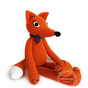 Куклы и игрушки handmade. Livemaster - original item Knitted toy. Fox.. Handmade.