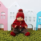 Куклы и игрушки handmade. Livemaster - original item Overalls for Baby born, clothes for babies, doll clothes. Handmade.