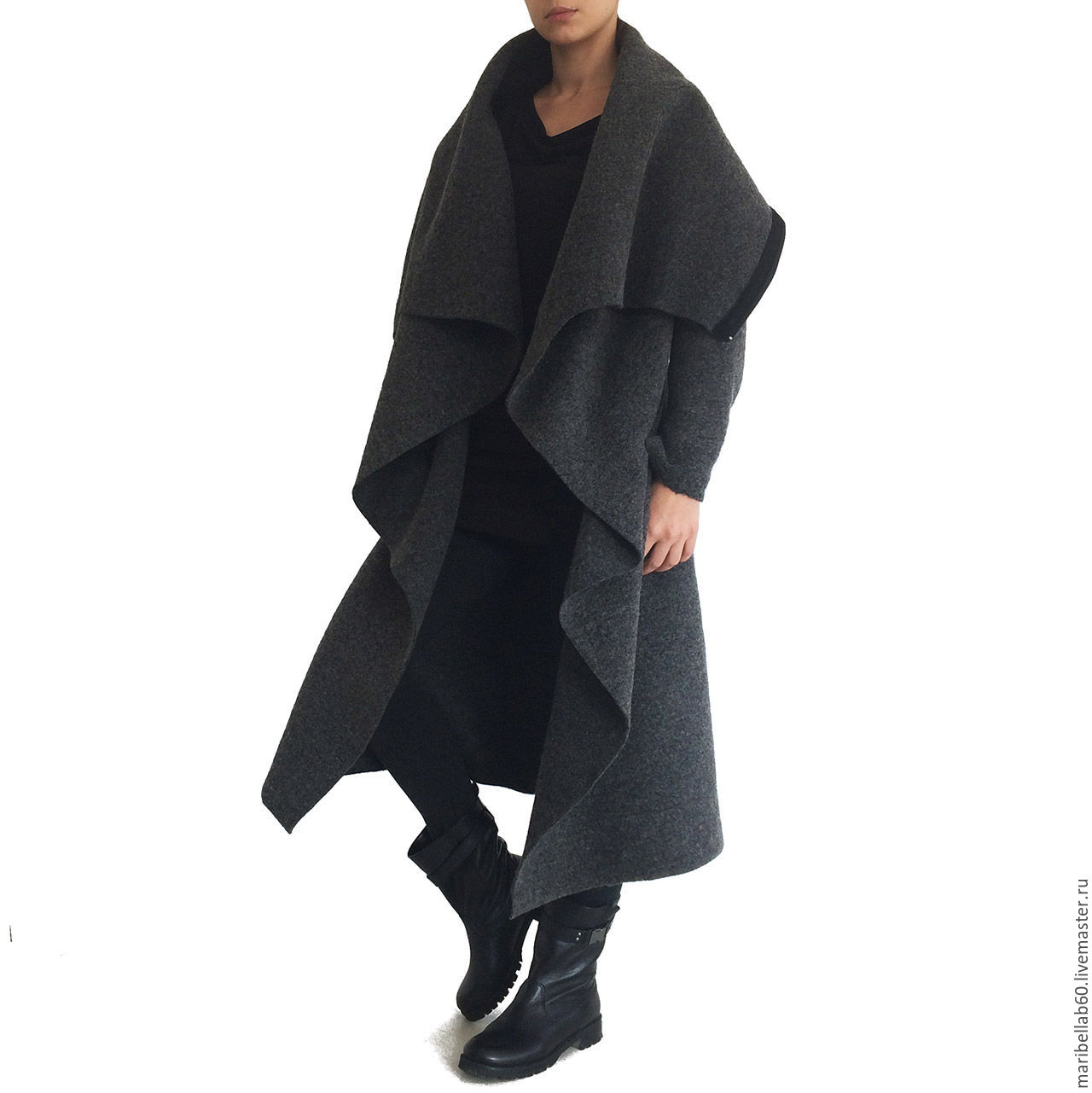 Gray coat winter coat Fashion coat Winter coat SAMURAI, Coats, Sofia,  Фото №1