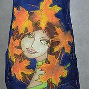 """Одежда ручной работы. Ярмарка Мастеров - ручная работа туника валяная """"Подружка Осень"""". Handmade."""