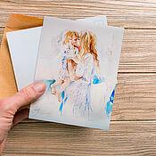 Открытки handmade. Livemaster - original item New set of postcards