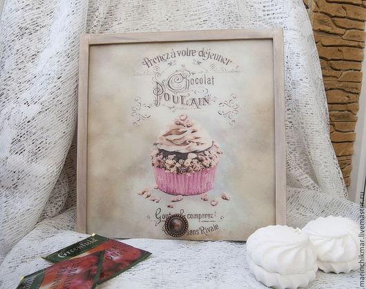 """Кухня ручной работы. Ярмарка Мастеров - ручная работа. Купить Короб для сладостей """"Нежный зефир"""". Handmade. Бледно-розовый, сосна"""