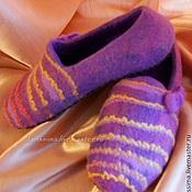 Обувь ручной работы handmade. Livemaster - original item Dried Slippers Comfort. Handmade.
