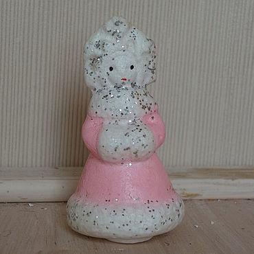 Винтаж ручной работы. Ярмарка Мастеров - ручная работа Елочная игрушка Снегурочка маленькая. Handmade.