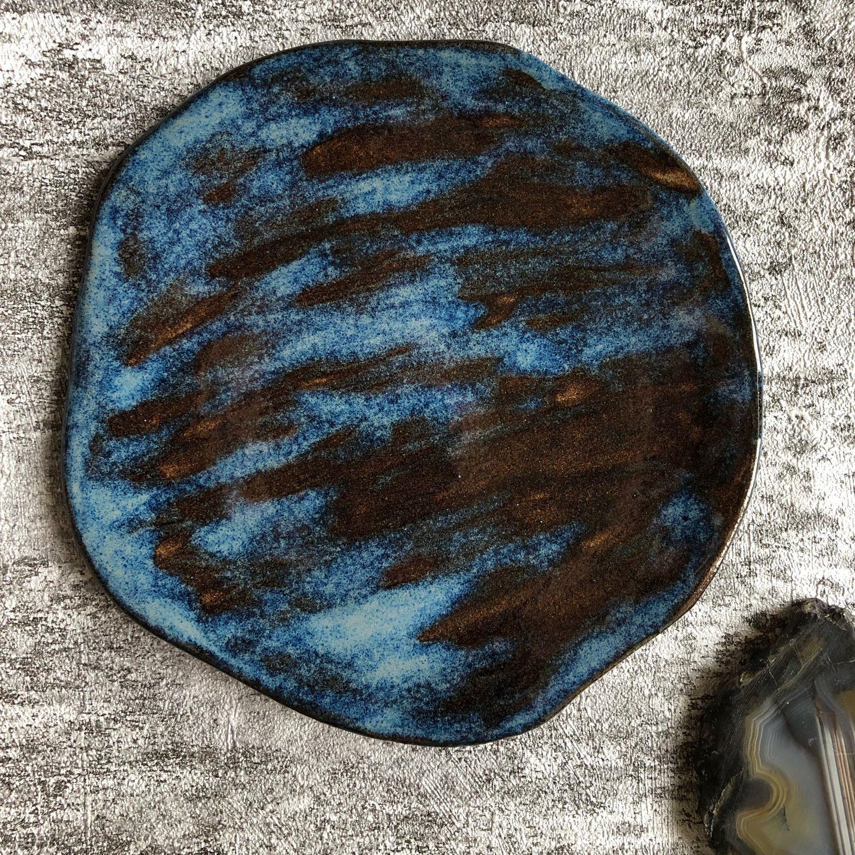 Керамическая тарелка, посуда из глины, Тарелки, Санкт-Петербург,  Фото №1