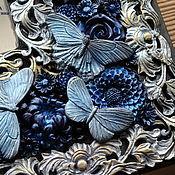 Для дома и интерьера ручной работы. Ярмарка Мастеров - ручная работа Декоративное зеркало Бабочки. Handmade.