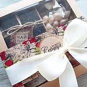 Подарочные боксы ручной работы. Ярмарка Мастеров - ручная работа Подарочный набор Цветение. Handmade.