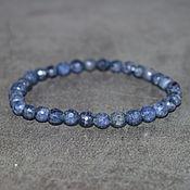 Украшения handmade. Livemaster - original item Natural sapphire bracelet with cut. Handmade.